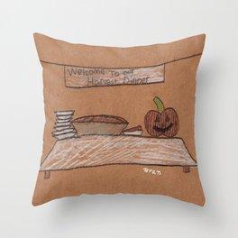 Thanksgiving Dessert Throw Pillow