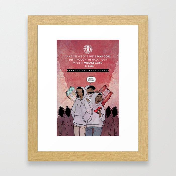 Skittles & Tea Framed Art Print
