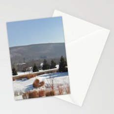 Winter Snow Scene Landscape Photo Stationery Cards