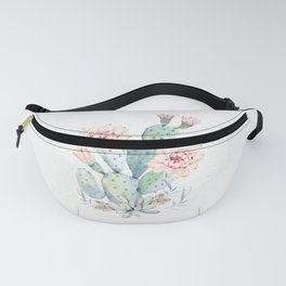 Prettiest Cactus Rose by Nature Magick Fanny Pack