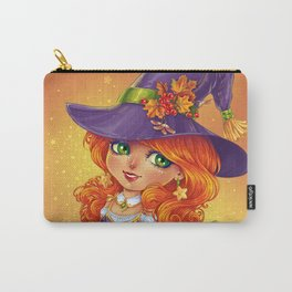Halloween Witch Chibi Carry-All Pouch