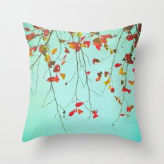 October Greetings Throw Pillow