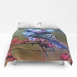 Birds In Armor 2 Comforters