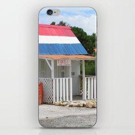 Turist Center Curacao iPhone Skin