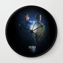 Star Trek Kirk & Spock Poster Wall Clock