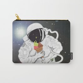 Astronaut with ice cream cone Carry-All Pouch