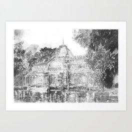 Crystal Palace (El Retiro Park - Madrid) Art Print