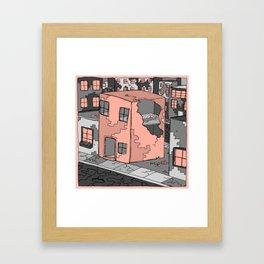 For Rent Framed Art Print