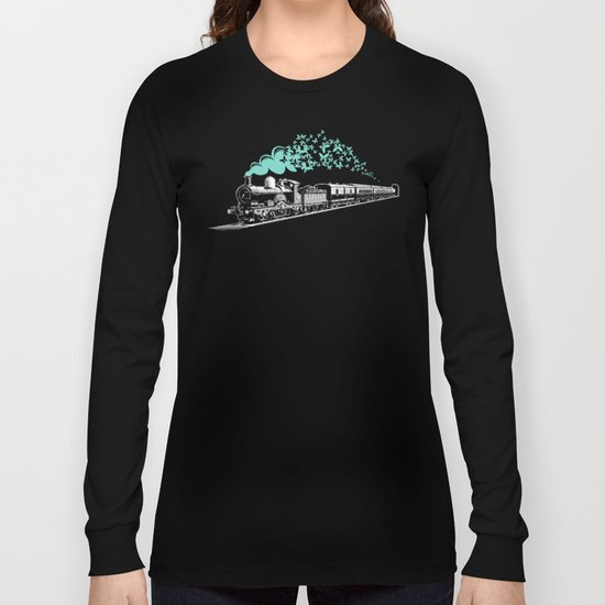 Butterfly Train Long Sleeve T-shirt