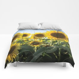 Sunflowers Comforters