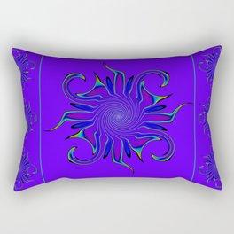 Rainbow Microbe Rectangular Pillow