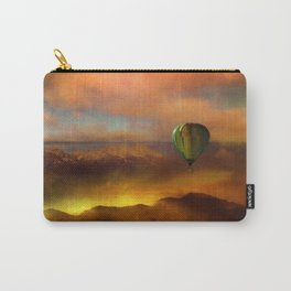 Sunset with Balloon Carry-All Pouch
