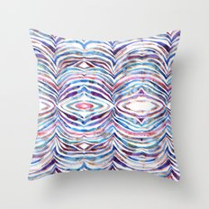 Cheeky Zebra {A} Throw Pillow