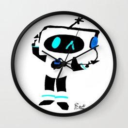 Terabit melodies Wall Clock
