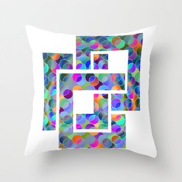 creative June Throw Pillow
