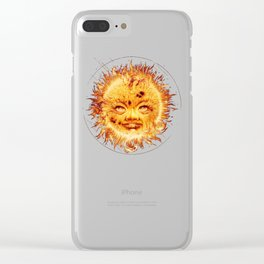 The Sun (Young Star) Clear iPhone Case