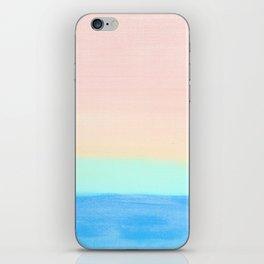 Retro Rainbow Painting iPhone Skin