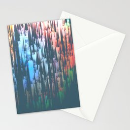 Raining Colors Stationery Cards