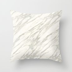 Calacatta gold Throw Pillow