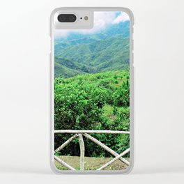 The Other Side of the Fence Clear iPhone Case