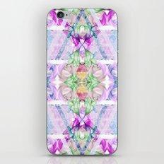 Wildflower kaleidoscope iPhone & iPod Skin