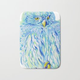 Sea Owl Bath Mat