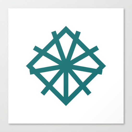#151 Alliance – Geometry Daily Canvas Print