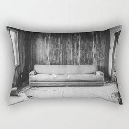 The Yellow House, Arena, North Dakota 12 Rectangular Pillow