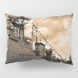 Portuguese Navy frigates Pillow Sham