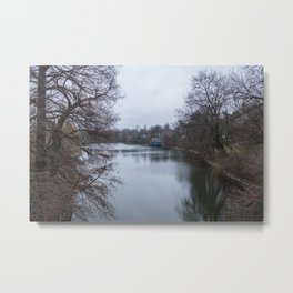 București river Metal Print
