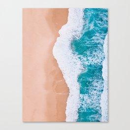 Clean Wave Canvas Print