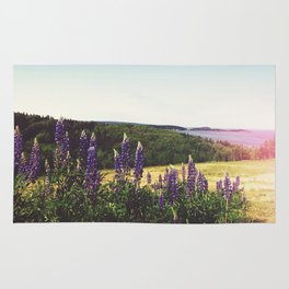 Lupine Flowers of the Maritimes Rug