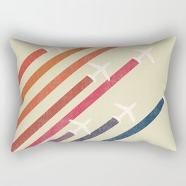 Aerial display (ver.2) Rectangular Pillow