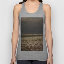 Morning Sailing at early time Unisex Tank Top