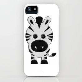 Cebra de Peluche iPhone Case