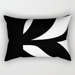 Hidden Letters. Baskerville R Rectangular Pillow