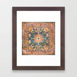 Amritsar Punjab North Indian Rug Print Framed Art Print