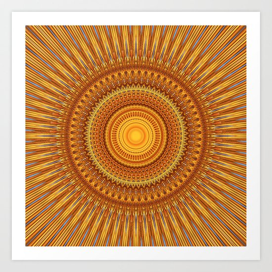 Sunny Boy Art Print