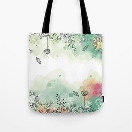 jardin doux Tote Bag