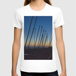 Boats in The Night T-shirt