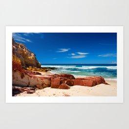 Seclusion Bay Art Print