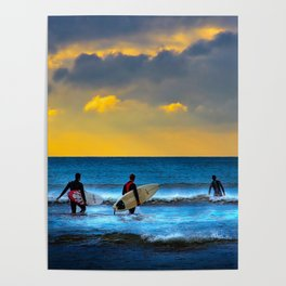 Last Surf Of The Day Poster