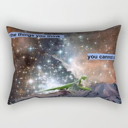 Do the Things You Think You Cannot Do Rectangular Pillow