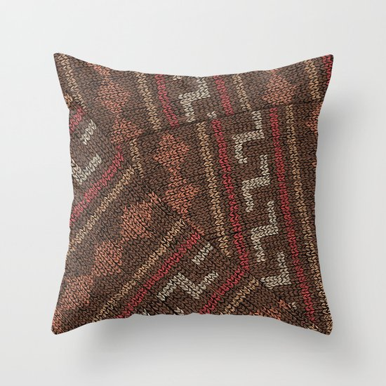 Winter lovers V Throw Pillow