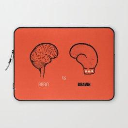 Brain vs Brawn Laptop Sleeve