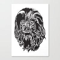 teen wolf Canvas Prints featuring Teen Wolf by The Milk Club