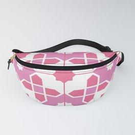 Portuguese Azulejos - Pink Palette Fanny Pack
