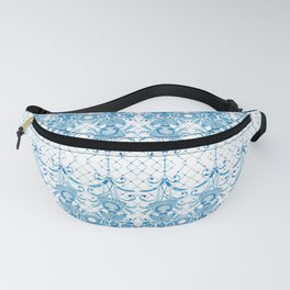 Azulejos Ladies - Handpainted Watercolor Fanny Pack