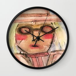 She lived in History. Wall Clock