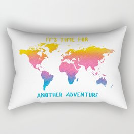 COLOR ME BOHO - IT'S TIME FOR ANOTHER ADVENTURE Rectangular Pillow